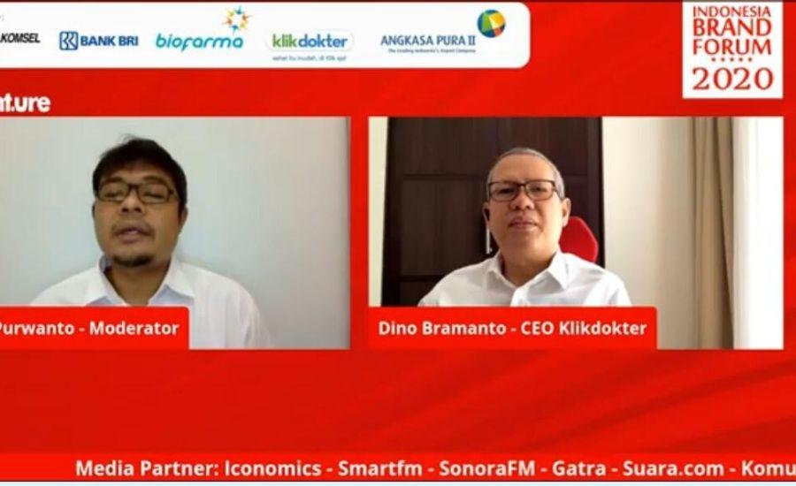 CEO Klikdokter Dino Bramanto (kanan)/Ist